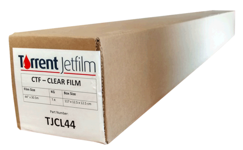 "Film Torrent Jetfilm (44"") 111,8 cm x 30,5 m Clear"