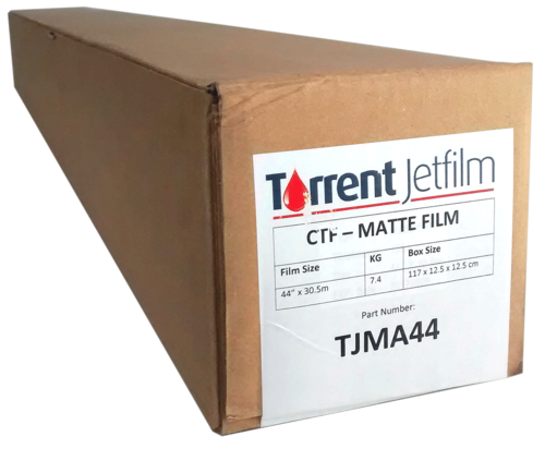"Film Torrent Jetfilm (44"") 111,8 cm x 30,5 m Matte"